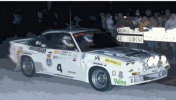 Opel Manta 400 Group B RAC Catalunya Costa Brava Rally 1984 - Decalcas