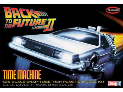 DeLorean Back to The Future II Time Machine - Polar Lights