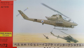 1/72 AH-1G Huey Cobra International