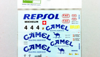Porsche 962C Camel #4 88' 24hr LeMans 1:24 - Decalpool
