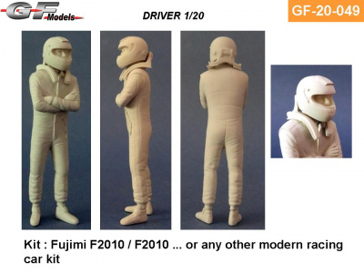 Driver Figure Massa, Alonso - GF Models