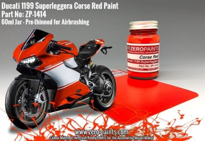 Ducati 1199 Superleggera Corsa Red Paint 60ml - Zero Paints
