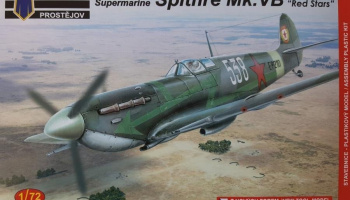 1/72 Supermarine Spitfire Mk.VB Red Stars