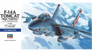 F-14A Tomcat High Visibility (1:72) - Hasegawa