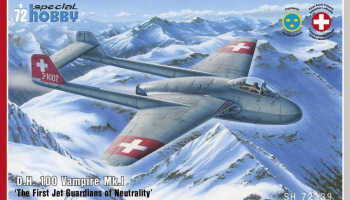 1/72 DH.100 Vampire Mk.I The First Jet Guardians o