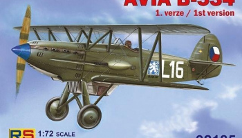 1/72 Avia B-534 I.version
