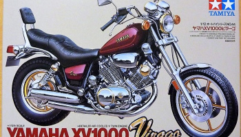 Yamaha Virago XV 1000 (1:12) Model Kit - Tamiya