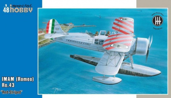 1/48 IMAM (Romeo) Ro.43 Red Striped