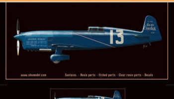 1/72 Caudron C.450 - Resin+PE+decal - Full resin kit