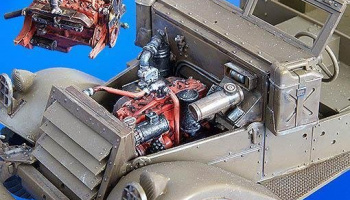 1/35 M3 Scout car – engine set