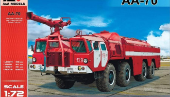 1/72 AA-70 Airport Firefighting truck