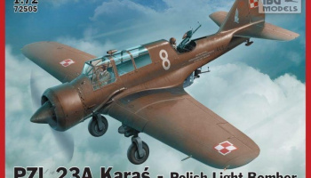 1/72 PZL 23A KARAS Polish Light Bomber