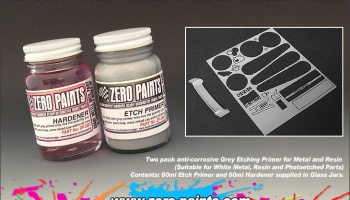 Etch Primer for Metal/Resin 120ml - Zero Paints