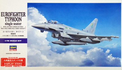 EUROFIGHTER TYPHOON single seater (1:72) - Hasegawa