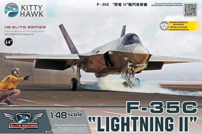 F-35C Lighting II 1/48 - Kitty Hawk
