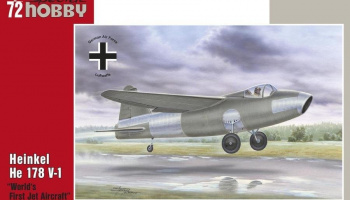 1/72 Heinkel He 178 V-1 First World Jet