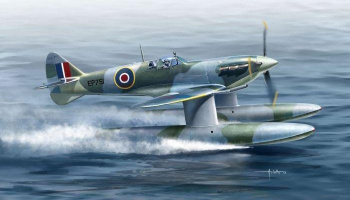 1/72 Spitfire Vb Floatplane Plastic kit with PE parts