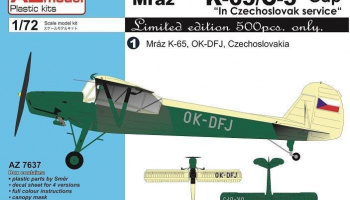 "1/72 K-65/C-5 Čáp ""In Czechoslovak service"""