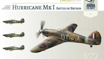 1/72 Hurricane Mk I Battle of Britain Limited Edition