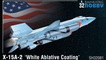 1/32 X-15A-2 'White Ablative Coating'