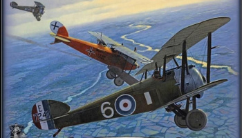 Sopwith F.1 Camel & LVG C.VI 1/32 - Wingnut Wings