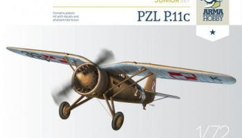 1/72 PZL P.11c Junior Set
