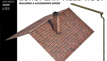 1/35 European Tiled Roof