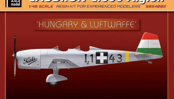 1/48 Caudron 600 'Lufwaffe & Hungary' - Resin+PE+decal - Full resin kit