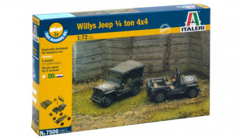 Fast Assembly military 7506 - 1/4 Ton 4x4 TRUCK (1:72)