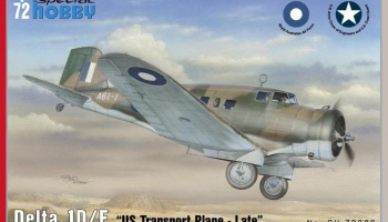 1/72 Delta 1D/E US Transport plane