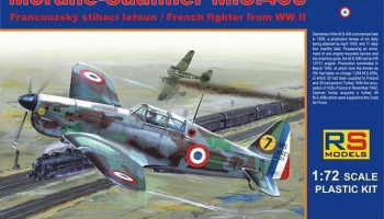 1/72 Morane Saulnier MS.406 France