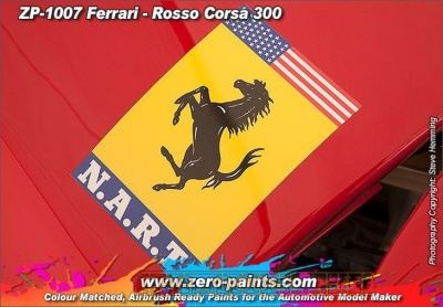 Ferrari - Rosso Corsa (Red) 300 - Zero Paints