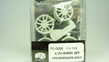 Volkswagen Golf Wheel Set (for Fujimi) 1/24 - FG Model