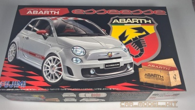Fiat 500 Abarth Esseese - Fujimi