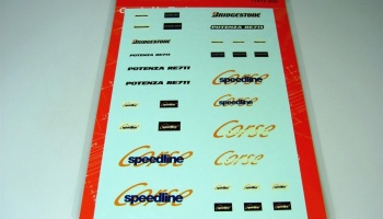 Manufacturer Logo Decal Set 1 - Fujimi