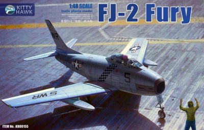 FJ-2 Fury 1/48 - Kitty Hawk