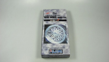 17inch Normal Wire Wheels Silver Type - Fujimi