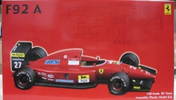 Ferrari F92A 1992 Late Version - Fujimi