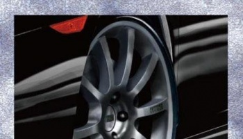 19-inch Sportec Mono 10 Wheels and Tires Set - Fujimi
