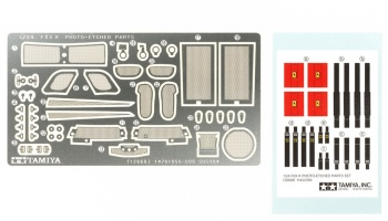 FXX K Photo-Etched Parts Set - Tamiya