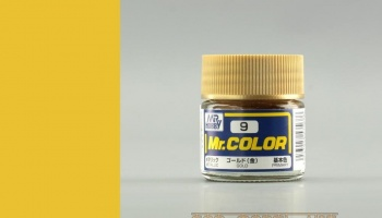 Mr. Color C 009 - Gold Mettalic  - Gunze