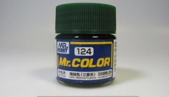 Mr. Color C 124 - Dark Green (Mitsubishi) - Tmavě zelená - Gunze