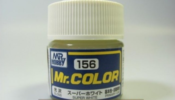 Mr. Color C 156 - Super White IV Gloss - Super bílá lesklá - Gunze