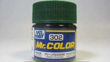 Mr. Color C 302 - FS34092 Green - Zelená - Gunze