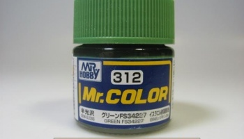 Mr. Color C 312 - FS34227 Green - Zelená - Gunze