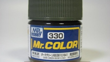 Mr. Color C 330 - Dark Green BS381C/641 - Tmavě zelená - Gunze