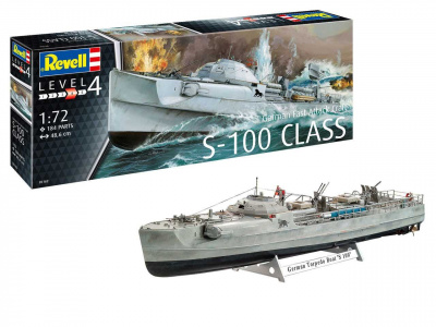 German Fast Attack Craft S-100 CLASS (1:72) - Revell