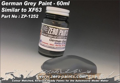 German Grey Paint - Similar to XF63 - Zero Paints
