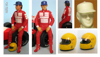 Driver Figure Senna McLaren MP4/6 - GF Models