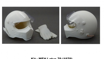 Helmet Simpson M30 Lotus 79 - GF Models